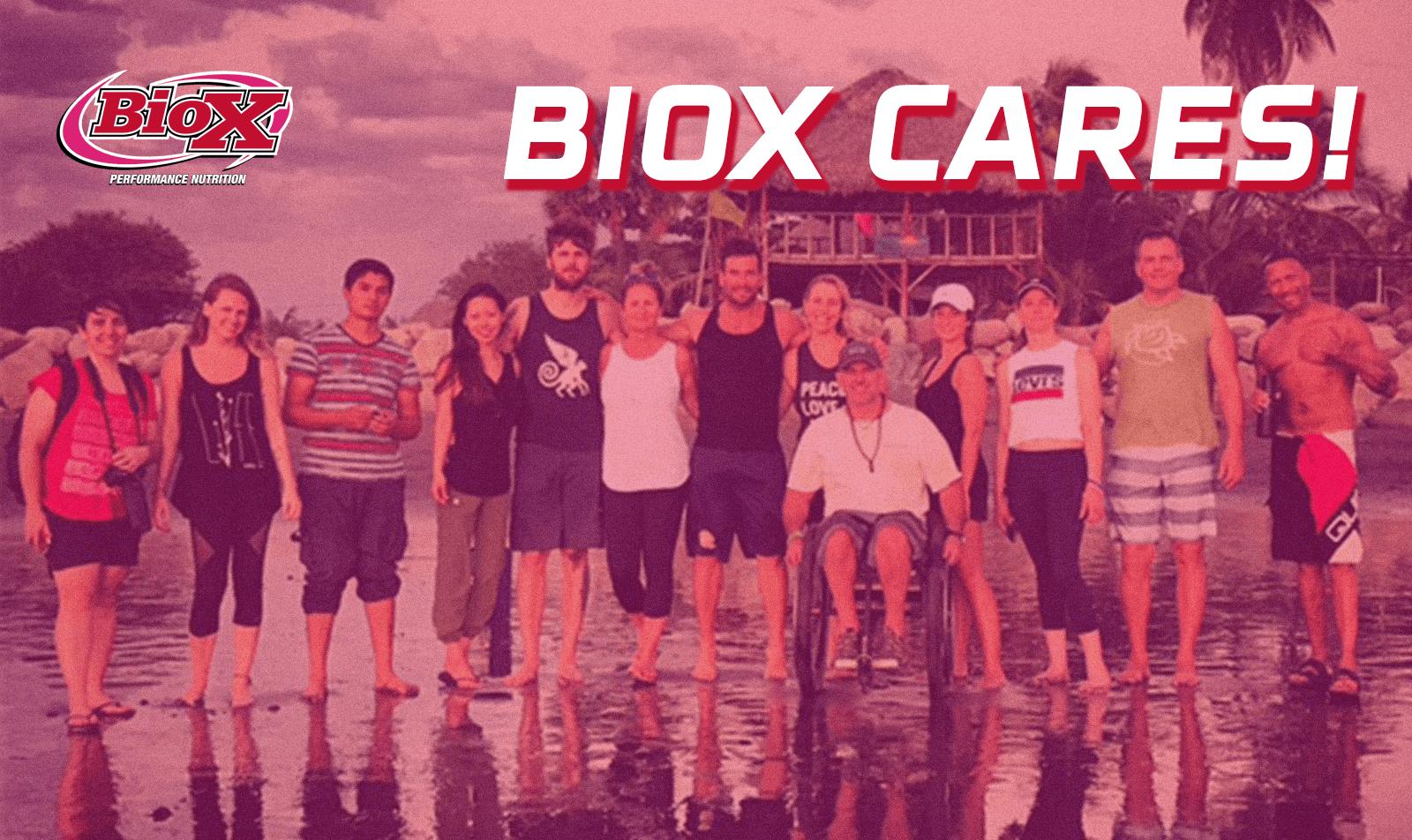 BioX Cares | Sponsored Athlete | BioX Performance Nutrition