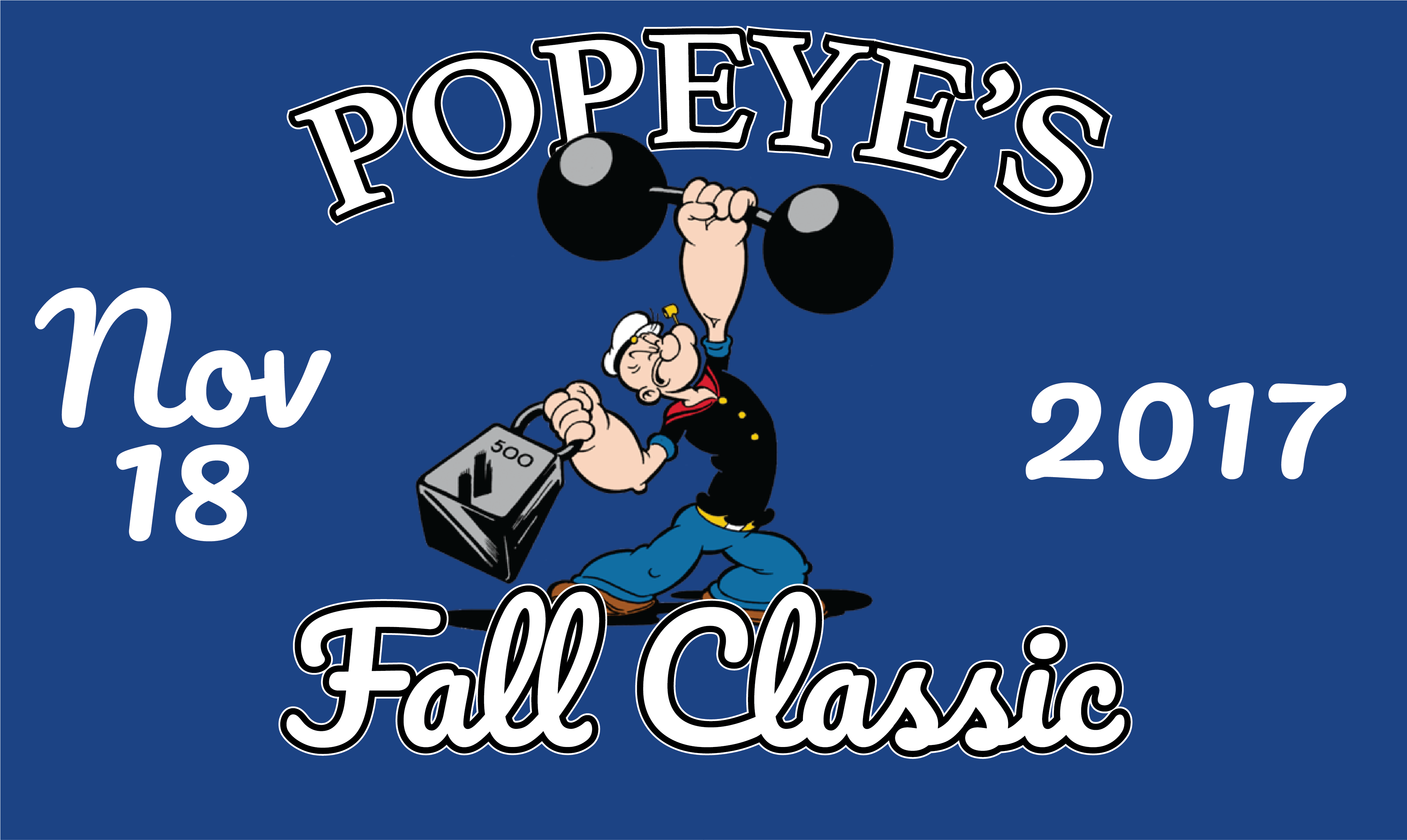 popeyes fall classic