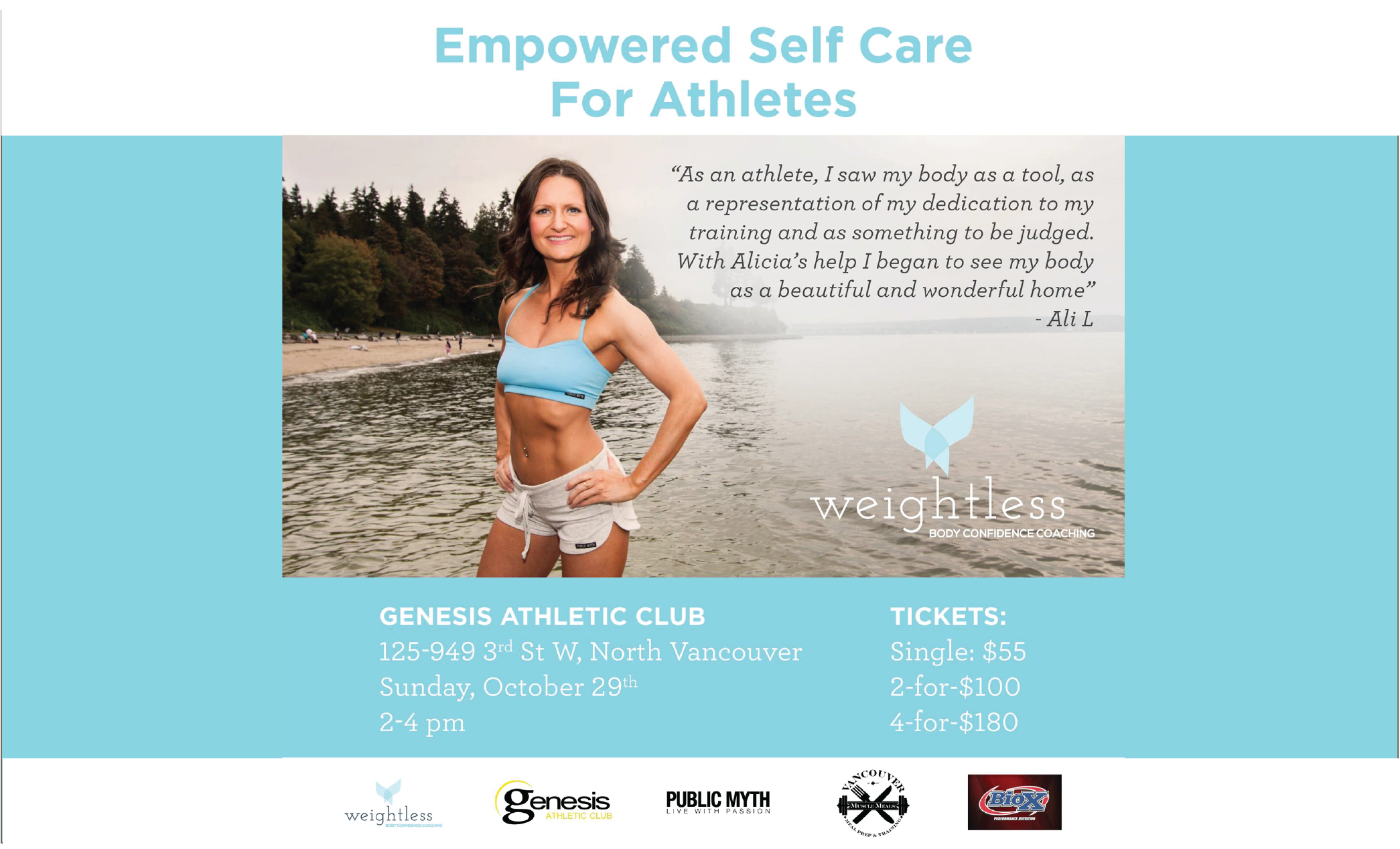 Empowered Self Care For Athletes (Genesis Athletic Club)