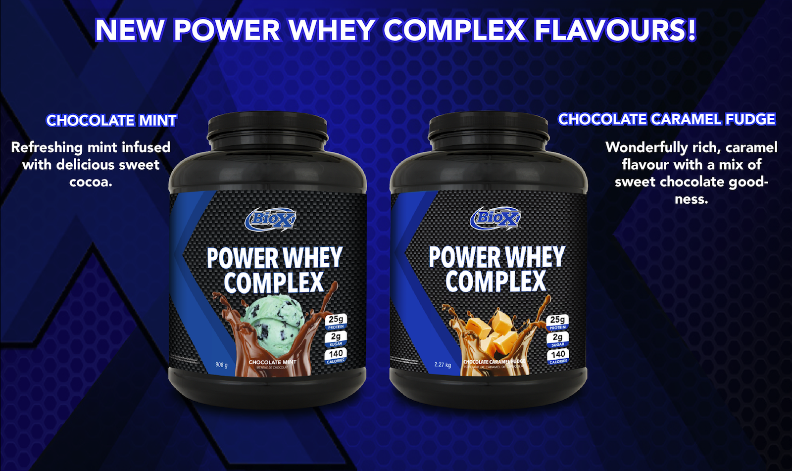 New Power Whey Complex Flavours   Biox Performance Nutrition
