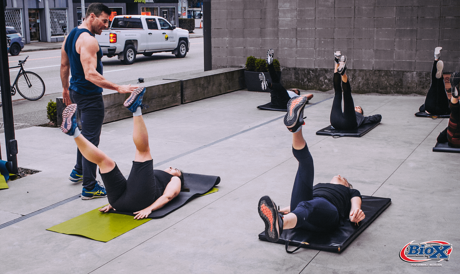 Highlights from the Full Body Bootcamp with Yvan