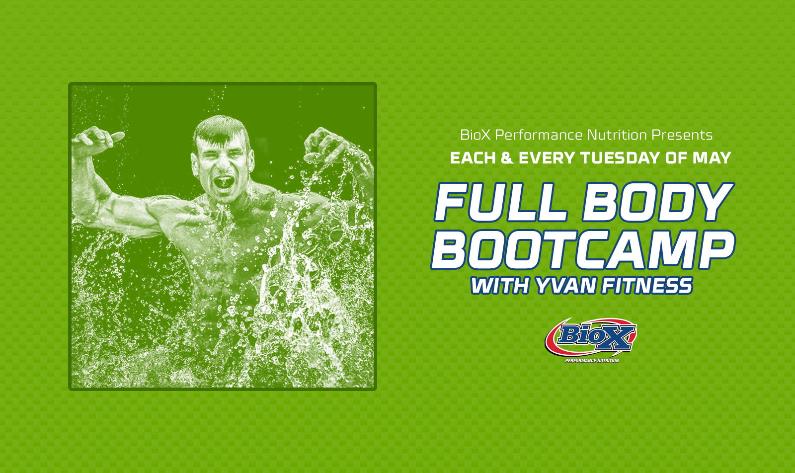 Full Body Bootcamp with Yvan Cournoyer Continues