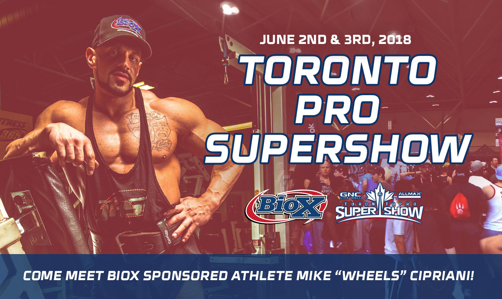BioX at the Toronto Pro Supershow this weekend
