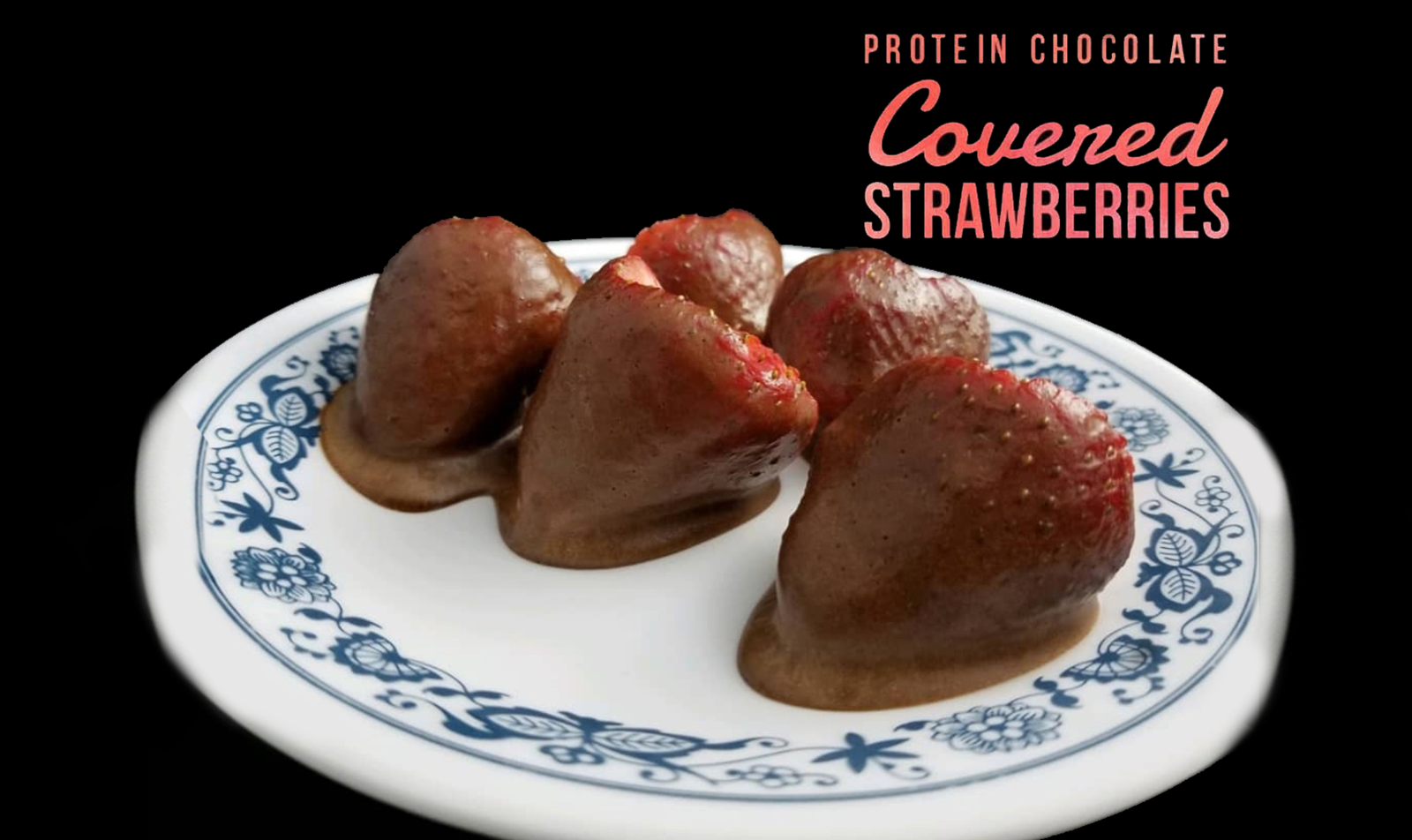 Protein Chocolate-Covered Strawberries