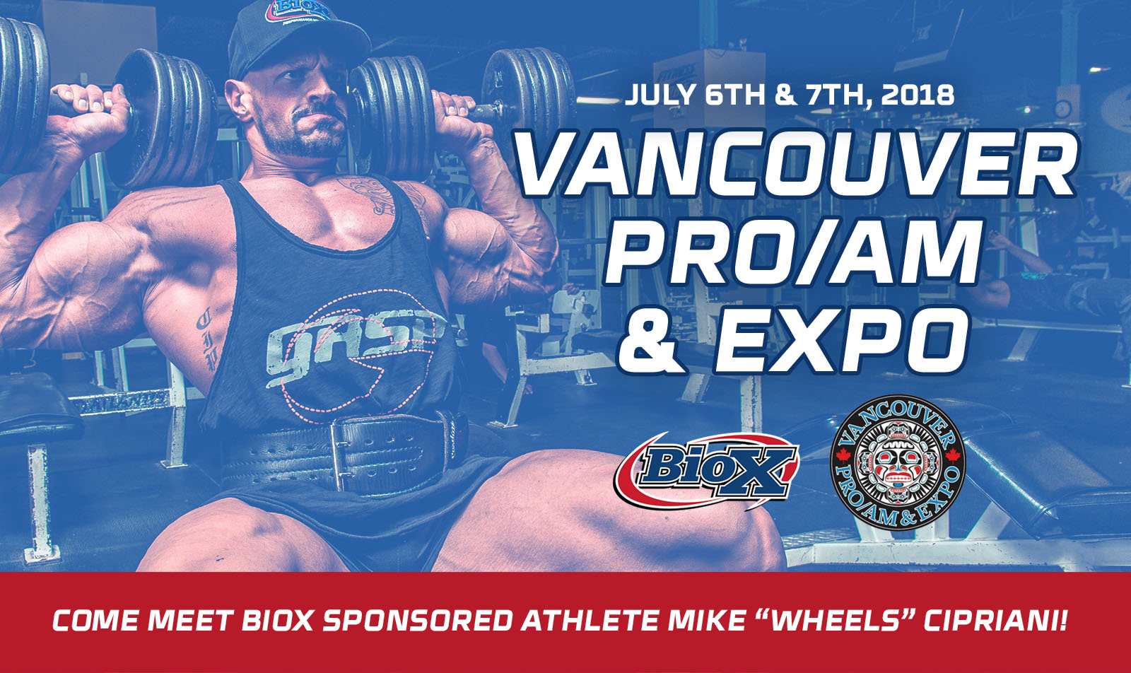 BioX at Vancouver Pro/Am & Expo This Weekend