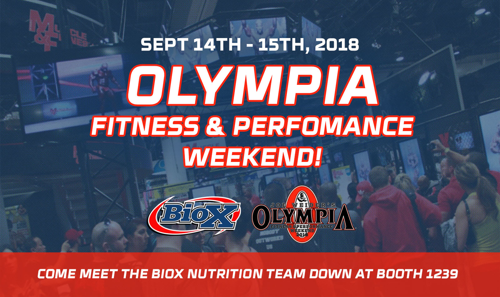 BioX at Olympia Fitness & Performance Weekend