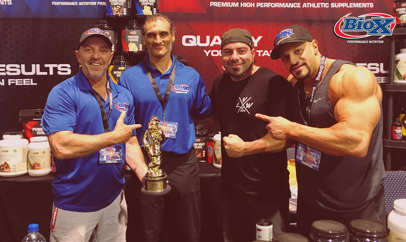 """BioX Wins """"Best Protein Blended"""" Award from Popeyes Canada"""