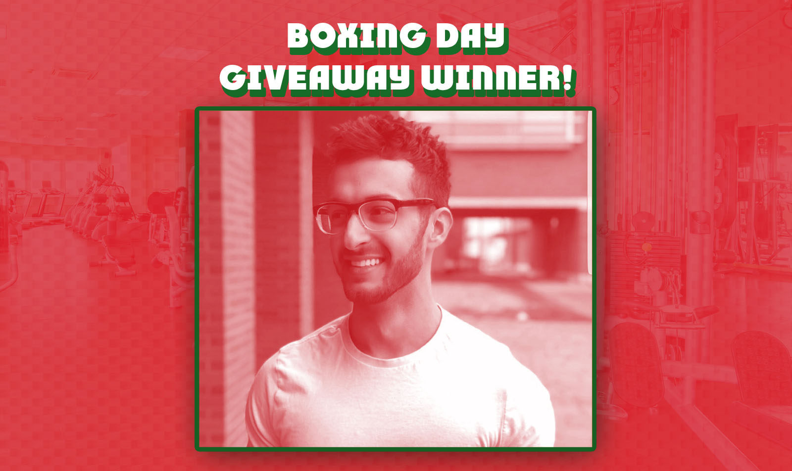 Congratulations to our Boxing Day Give Away Winner