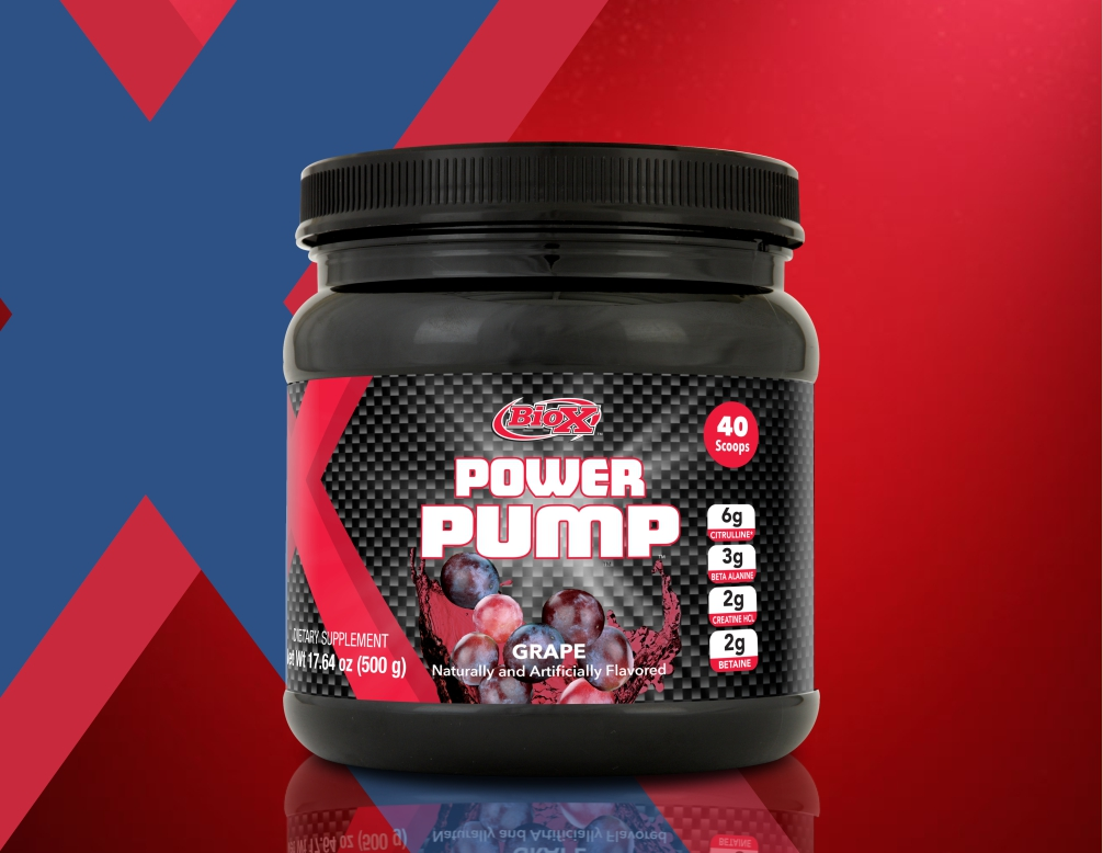 power pump powder   Biox Performance Nutrition